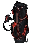 Black/Red Golf Bag